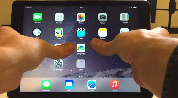 L'iPad Air 2 passe le test de torsion ! (vidéo)