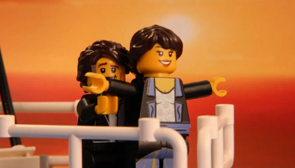 Un ado reconstitue des scènes de films cultes en Lego (vidéo)