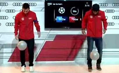 Concours de jongles : Messi vs Neymar, qui va l'emporter ? (vidéo)