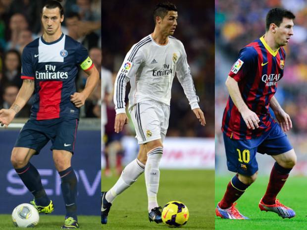 Découvrez combien gagnent Cristiano Ronaldo, Messi et Ibrahimovic… chaque seconde !