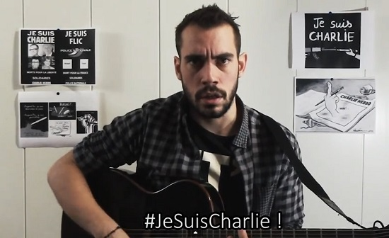 #JeSuisCharlie de JB Bullet : la chanson-hommage qui cartonne sur le net (vidéo)