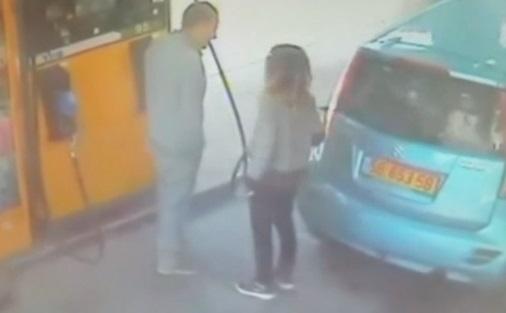 Israël : une femme commet une dinguerie à la pompe à essence