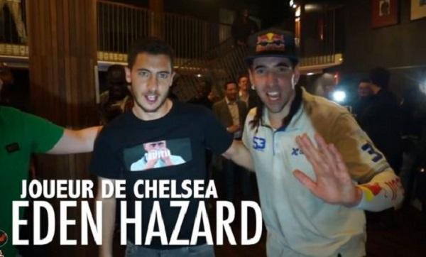 Foot freestyle : Séan Garnier vs Eden Hazard, Black M, Drogba, Adil Rami…