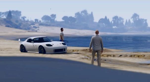Fast and Furious 7 : des fans de Paul Walker lui rendent hommage dans GTA 5