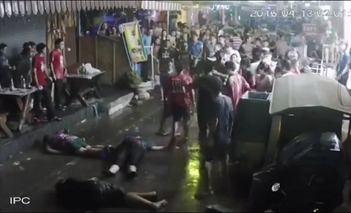 Une famille britannique violemment agressée en Thaïlande